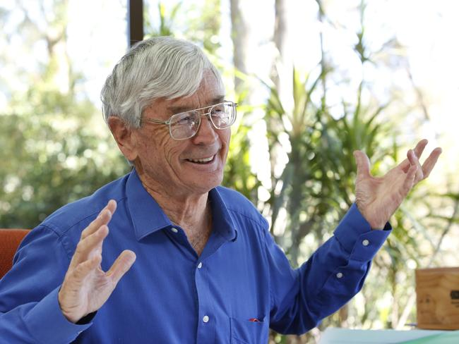 Dick Smith ... people overcrowded 'like termites'.