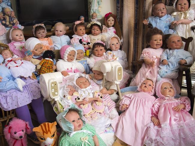 Betty loves her dolls. Picture: Caters