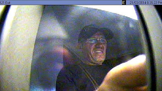 A man wanted in connection with card-skimming at ATMs across Sydney. Picture: Police Media
