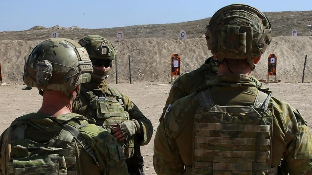 Australian advisers in Mosul, not pictured, have been caught up in a chemical gas attack. Picture: Gary Ramage