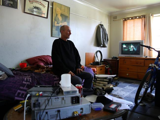 Colin played league for Mt Pritchard but 'hit the bottle hard'. Picture: Matrix for news.com.au