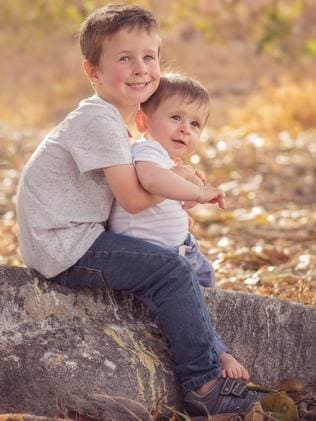 Koda and Hunter Little were killed by their father Damien who shot them and drove them off Brennen Wharf in the Eyre Peninsula town. Picture: SA Police