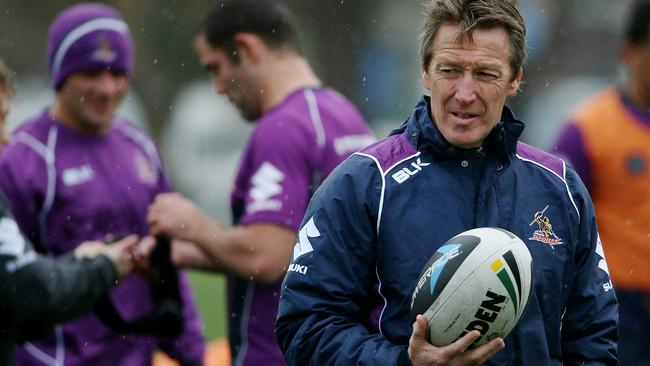 Craig Bellamy believes the Storm have had a rough time from the officials. Pic: Colleen Petch.