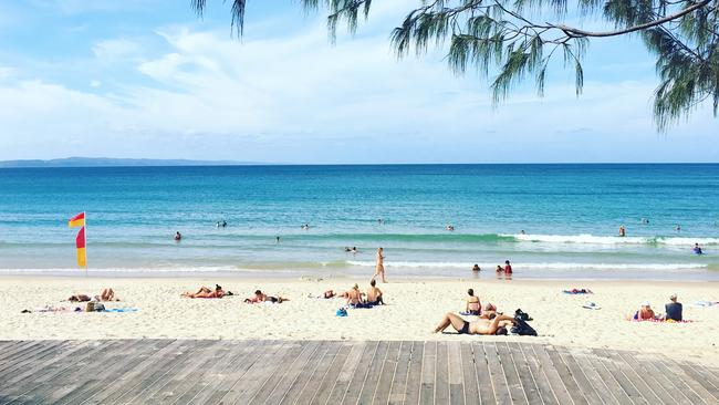 Main Beach at Noosa. Photo: Chantay Logan. Source: Supplied