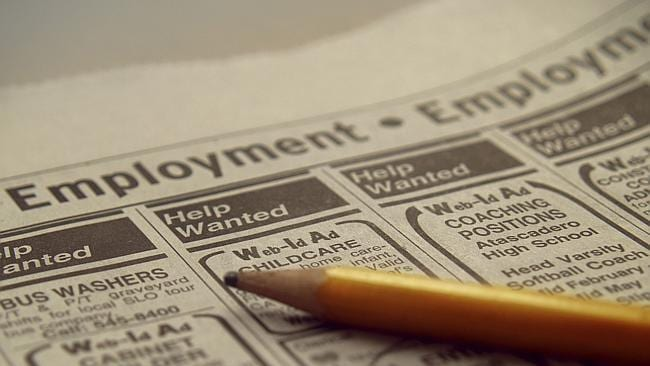 Job insecurity rated as one of the biggest concerns with nearly one-third of households not feeling safe in their employment. Picture: Thinkstock.