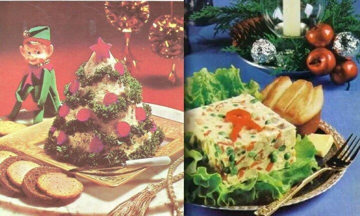 <b> TUNA IS TOTALLY VERSATILE </b> Make tuna the king of your Christmas feast by dressing up a giant mound of it with tinsel. Or, nothing is as elegant as a jellied tuna slice. Your guests will marvel at your creativity and opulance.