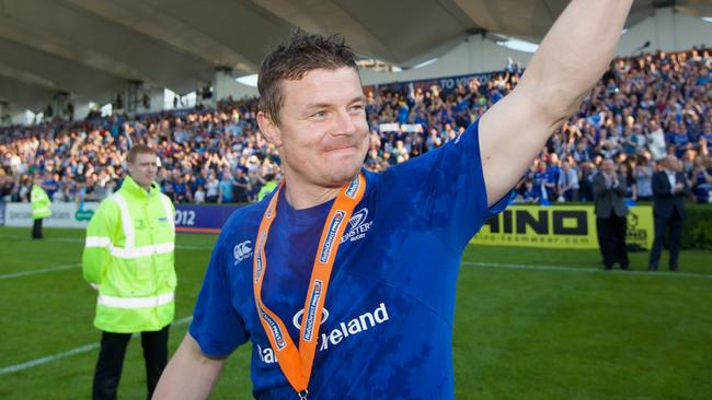 Brian O'Driscoll received a fitting send-off in Dublin.