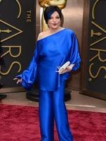 Liza Minnelli on the red carpet at the Oscars 2014. Picture: AP