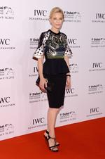 Cate Blanchett attends the Dubai International Film Festival 2012 in Dubai, United Arab Emirates. Picture: Getty