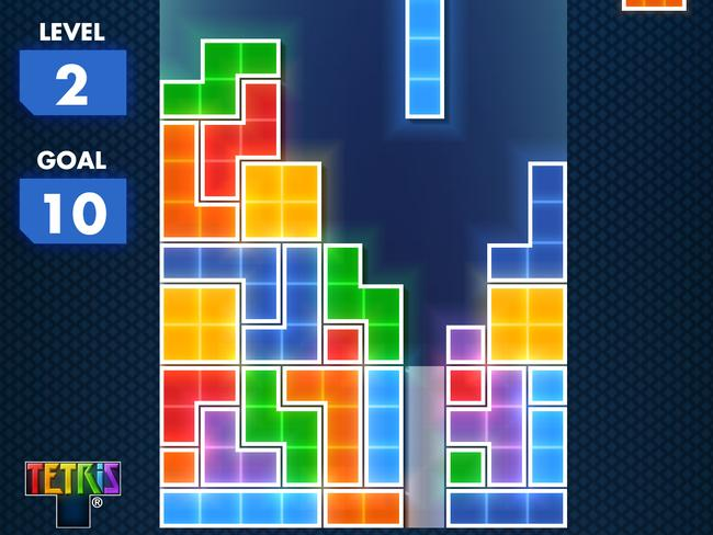From Russia with love ... the video game Tetris.