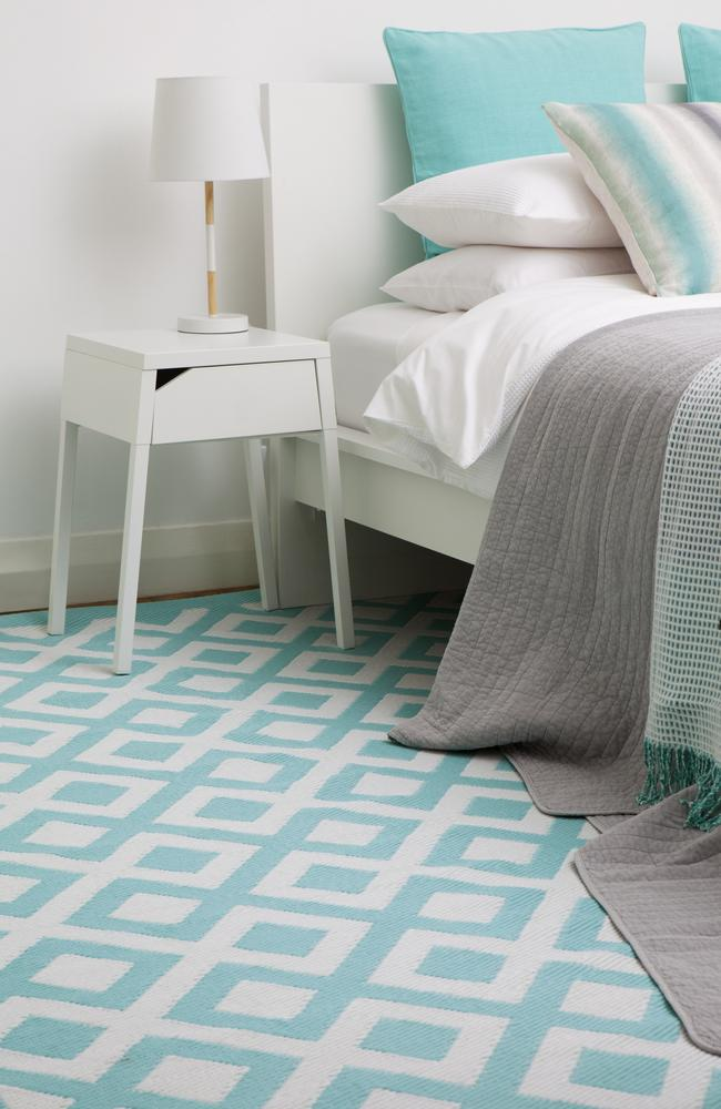 Awesome A rug can update a room This one is from Fab Habitat Picture