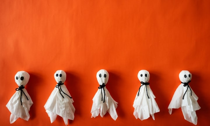 How to make recycled ghosts