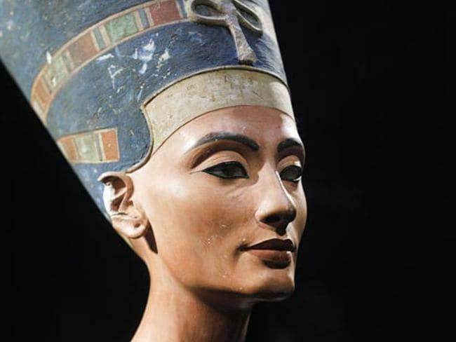 Queen Nefertiti, known for her beauty, could've been hiding in plain sight all these years. Picture: Channel Nine