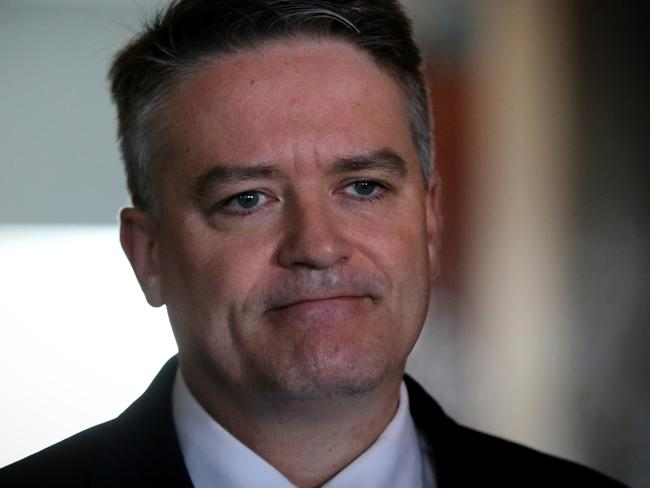 Finance Minister Mathias Cormann has a tax deductible property in Canberra and can claim a $273 allowance when he stays there.