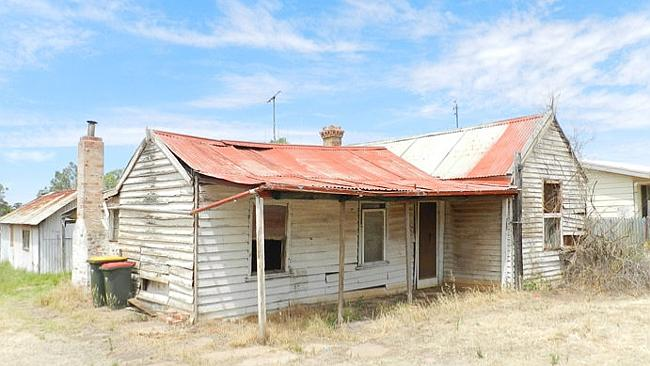 """VERNON St, Korong Vale, Victoria is listed as a """"golden opportunity'' within a short drive of the gold mining town of Wedderburn. Picture: realestate.com.au"""