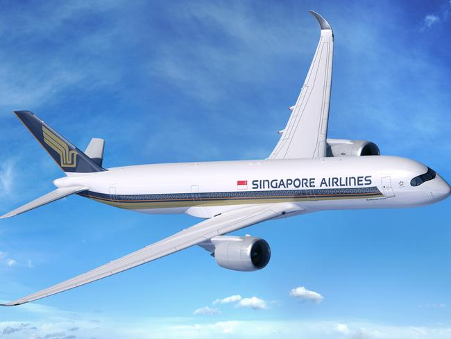 Singapore Airlines has a growing fleet of Airbus A350s. Picture: Airbus