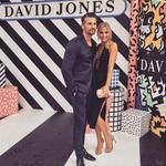 The 2016 ARIA Awards via social media ... Tim Robards and Anna Heinrich. Picture: Instagram