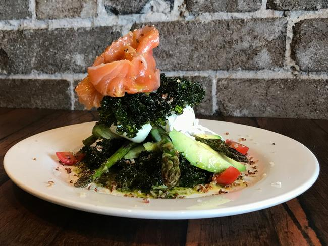 The Goblin Cafe's house-cured salmon. Picture: Jenifer Jagielski