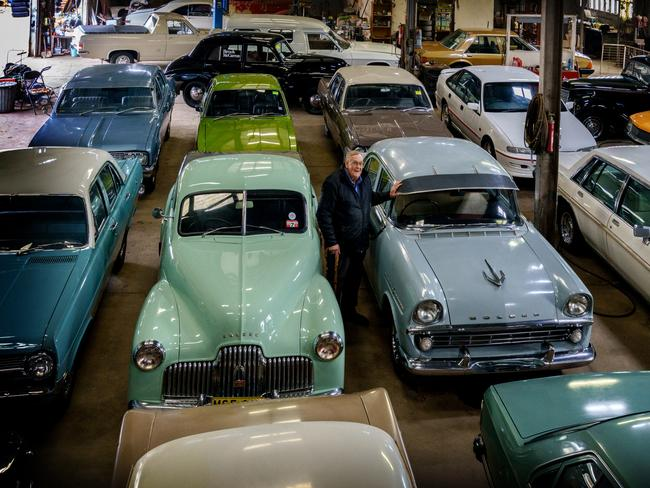 Holden Collector Charlie Mccarron To Sell Cars At Auction In
