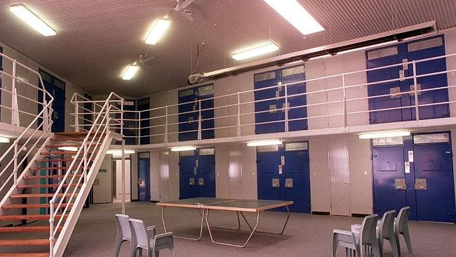 Inmate living pod in Silverwater men's maximum security remand centre. Picture: New...