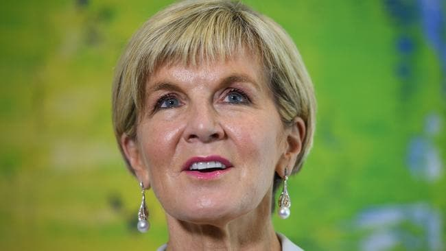 Foreign Minister Julie Bishop says Hun Sen's threats won't be carried out on Australian soil. Picture: AAP Image/Dan Himbrechts
