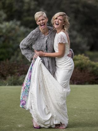 Sarah and close friend Jessica Rowe