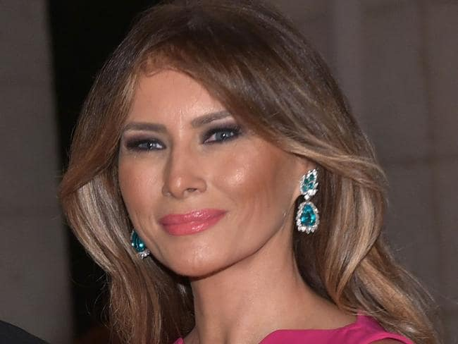 Melania Trump says she hasn't surgically altered her appearance. Picture: AFP