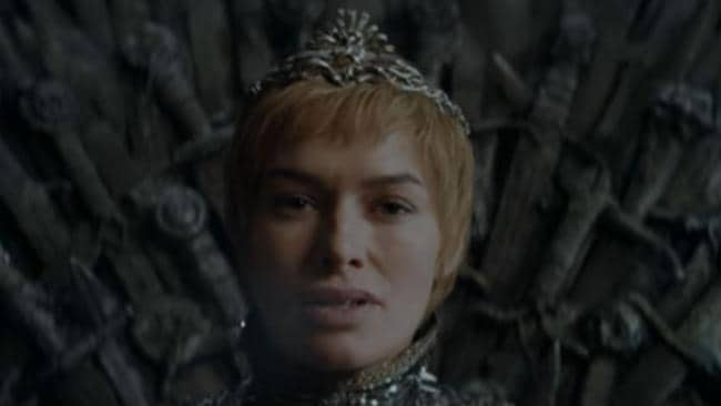 Supplied Editorial Cersei (Lena Headey) takes the Iron Throne in Game of Thrones