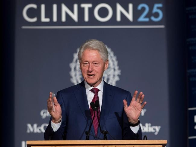 Former US President Bill Clinton has been hit with new sexual assault allegations. Picture: AFP/Saul Loeb