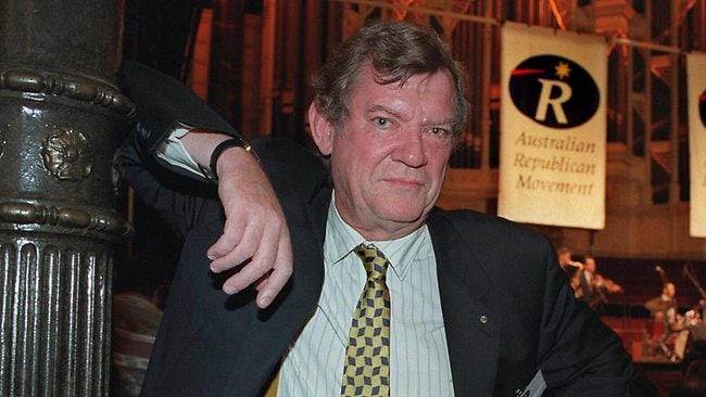 Robert Hughes, author and art critic. Picture: News Limited image library