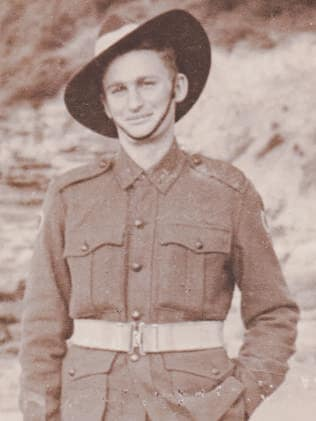 Ray Gibson in 1942 / Picture: Supplied