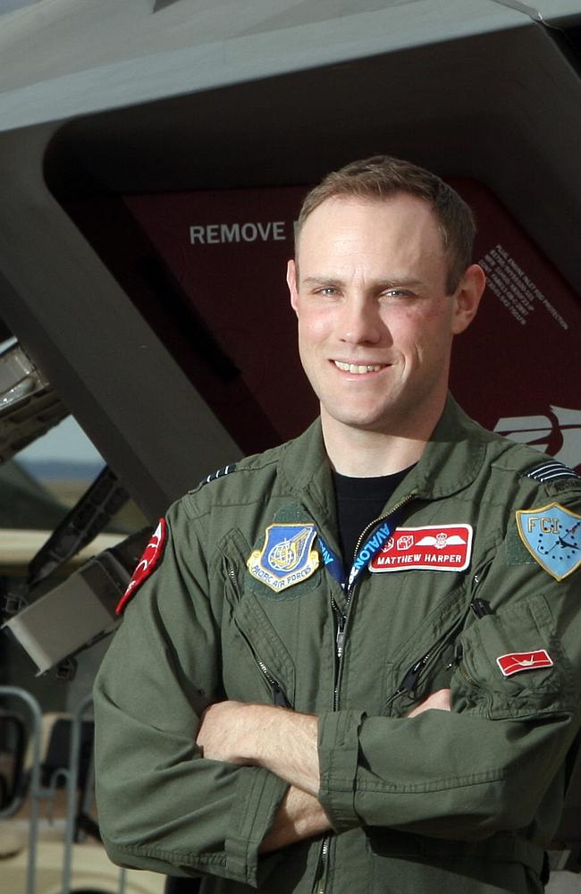Why the JSF ... to keep Australia at the top of the regional air combat pecking order and to allow our fighter pilots like Matt Harper, pictured, to guard our northern sea-air approaches.