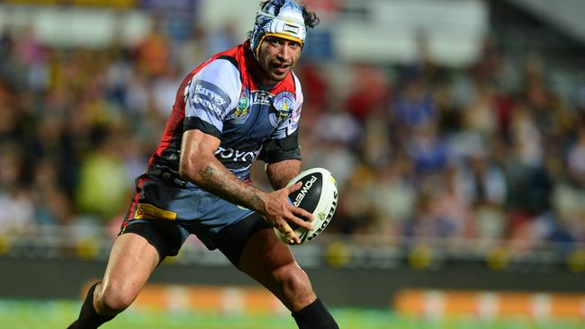 Johnathan Thurston has been in the mood for the Cowboys in recent weeks. Pic: Evan Morgan