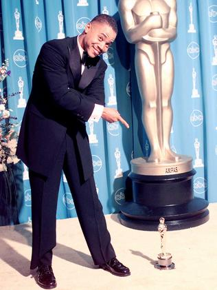 Cuba won an Oscar for his work in the film.