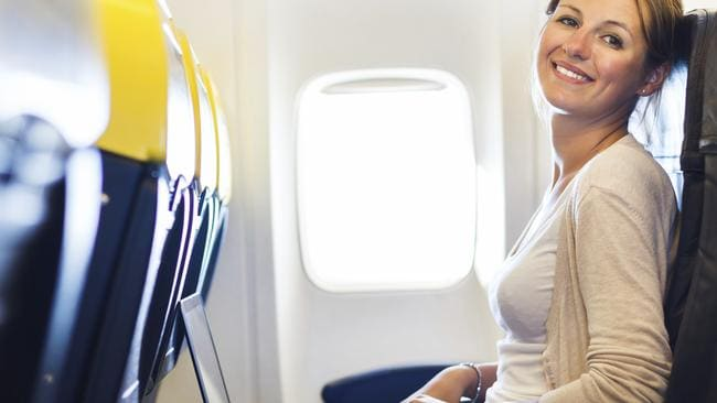 Wi-Fi trends... Staying connected in the air seems set to become a reality for Australian travellers. Picture: Thinkstock