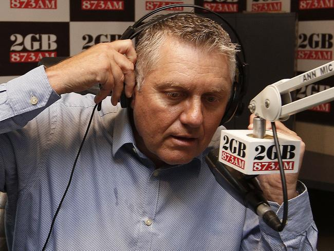 Ray Hadley has been speaking to one of the hostages over the phone.