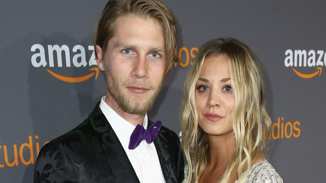 Big Bang Theory star Kaley Cuoco is engaged to boyfriend Karl Cook.