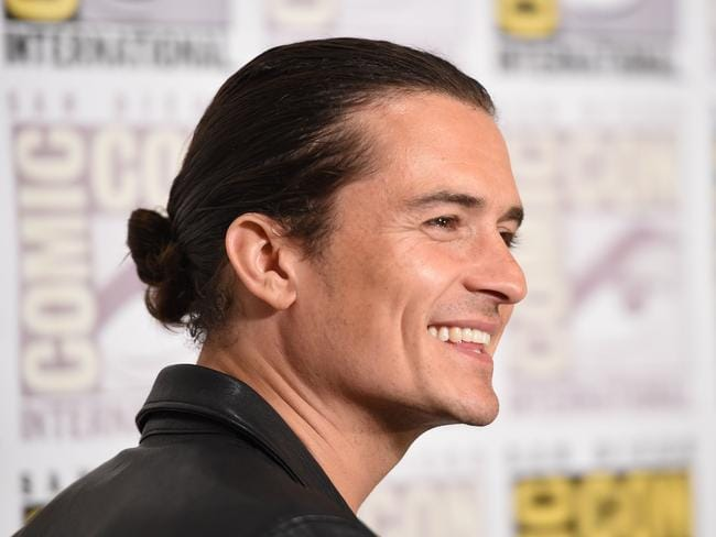 "Provoked? ... Bloom attends the press line for ""The Hobbit: The Battle of the Five Armies"" at Comic-Con, in San Diego earlier this week. Picture: AFP"