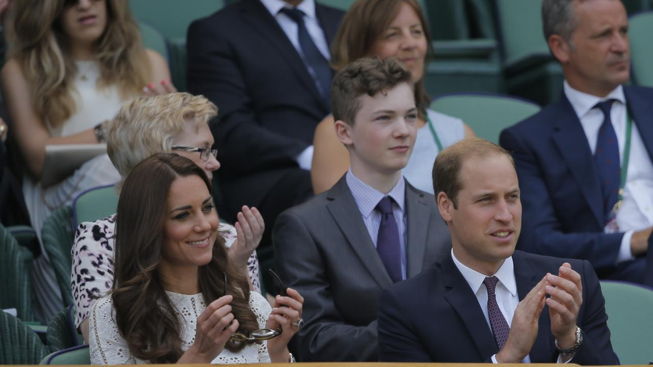 William and Kate mix with Aussie tennis royalty Neale Fraser