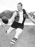 Darrel Baldock's ball-handling skills were a class above the rest of the VFL comp.