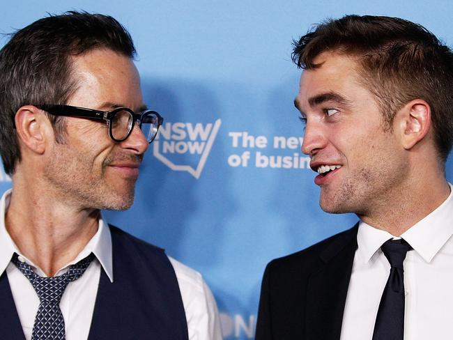 Two of a kind ... Pearce and Pattinson at the Sydney Film Festival.