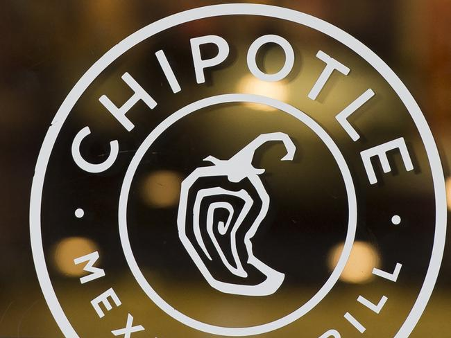 Two separate outbreaks of E. coli sickened dozens of customers at Mexican restaurant chain Chipotle in the US. Picture: AFP / Saul Loeb