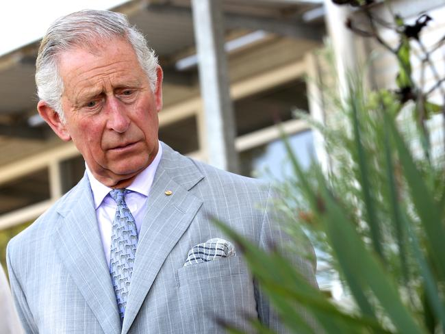 Campaigner ... Prince Charles, Prince of Wales, believes there are links between climate changes and terrorism. Picture: Richard Wainwright — Pool /Getty Images