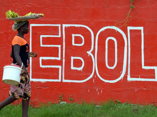 Liberia has denied permission for crews to embark from seaports into the country until the outbreak is under control. Pic: AFP.