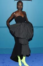 Model Alek Wek attends the 2017 CFDA Fashion Awards Cocktail Hour at Hammerstein Ballroom on June 5, 2017 in New York City. Picture: Nicholas Hunt/Getty Images