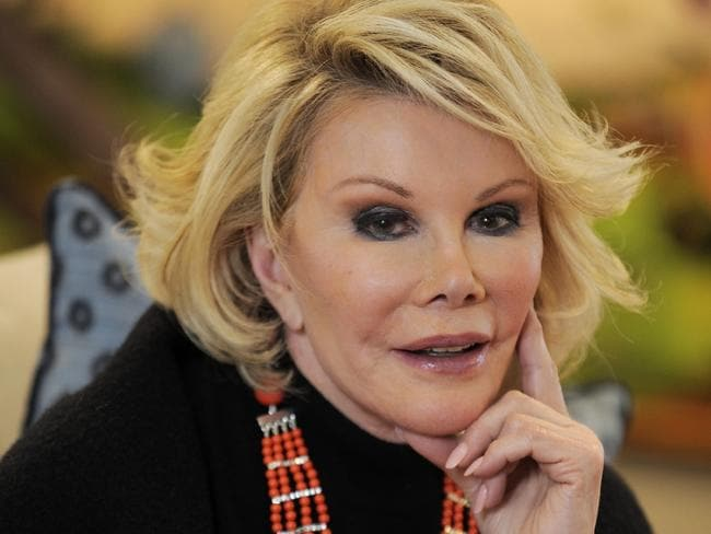 Joan Rivers poses for a portrait at Talisker on Main restaurant during the Sundance Film Festival in 2010.