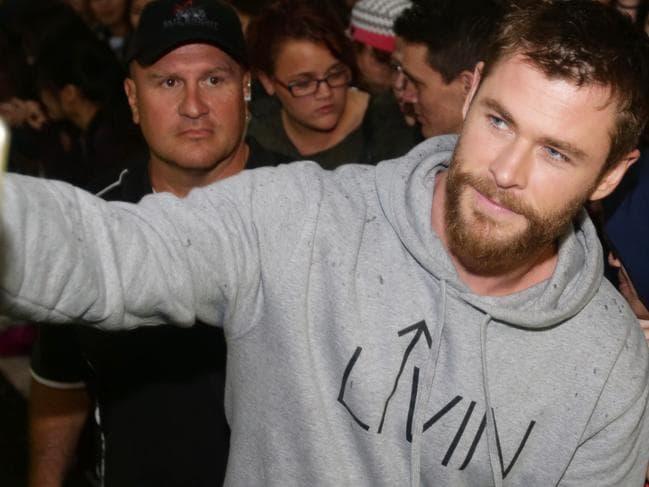 Hemsworth salutes Survivor Sam