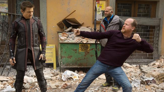 Paul Bettany says Joss Whedon's (right) Avengers 2: The Age of Ultron is the biggest thing he has ever worked on.