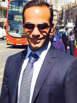George Papadopoulos was one of Donald Trump's campaign aide. Picture: AFP