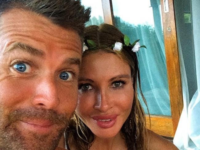 Paleo pusher ... Pete Evans, with his fiancee Nicola Roberston, has had an eventful month.